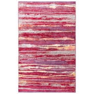 Jaipur Zariel Rug From Ceres Collection - Raspberry Wine Straw CER11